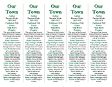 Our Town edition of Bookmarks Plus—Fun Freebie & Handy Little Reading Aid!