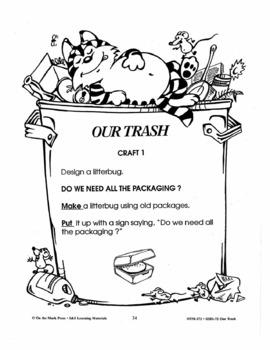 Our Trash 4 Craft & Art Ideas