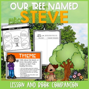 Our Tree Named Steve Interactive Read Aloud Lesson Plan and Extensions