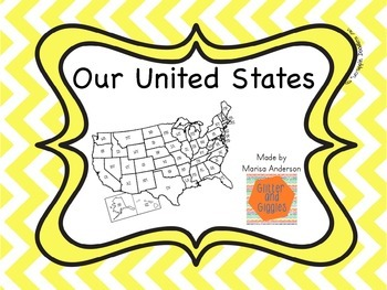 Our United States with Books and Flash Cards