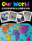 Continents and Oceans - Our World