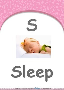Our World - Bicycles : Letter S : Sleep - Pre-Nursery (1 year old)