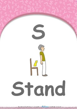 Our World - Bicycles : Letter S : Stand - Pre-Nursery (1 year old)