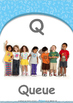 Our World - Cars & Planes : Letter Q : Queue - Nursery (2 years old)
