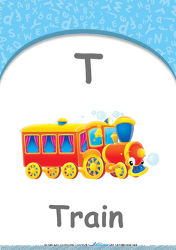 Our World - Fire Trucks : Letter T : Train - Nursery (2 years old)