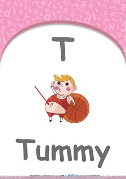 Our World - Fire Trucks : Letter T : Tummy - Pre-Nursery (1 year old)