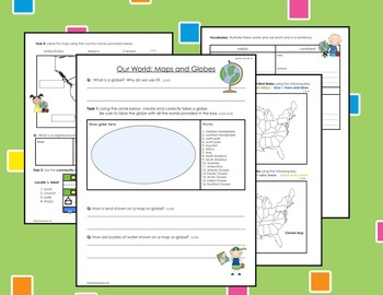 Our World: Maps and Globes