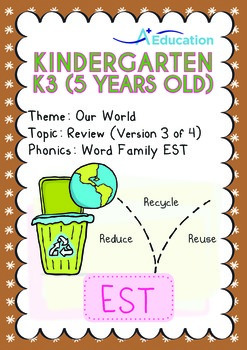 Our World - Review: 3R (III): EST Family - K3 (5 years old)