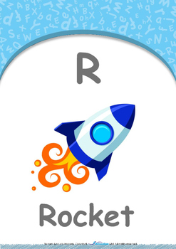 Our World - Submarines & Boats : Letter R : Rocket - Nursery (2 years old)