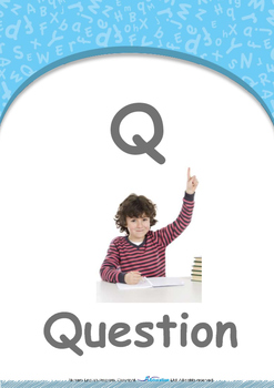 Our World - Sunny & Rainy : Letter Q : Question - Nursery (2 years old)