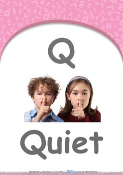 Our World - Sunny & Rainy : Letter Q : Quiet - Pre-Nursery (1 year old)