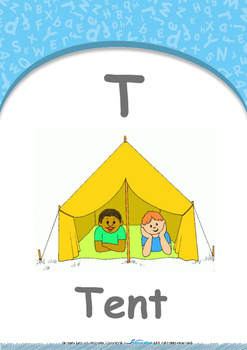 Our World - Trains : Letter T : Tent - Nursery (2 years old)