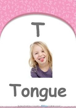 Our World - Trains : Letter T : Tongue - Pre-Nursery (1 year old)