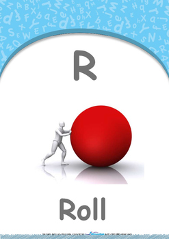 Our World - Walk & Run : Letter R : Roll - Nursery (2 years old)
