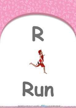 Our World - Walk & Run : Letter R : Run - Pre-Nursery (1 year old)