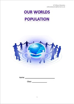 Our Worlds Population