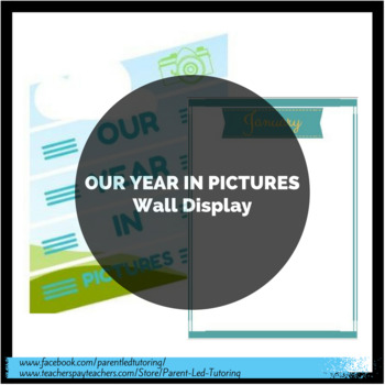 Our Year in Pictures - Monthly Wall Display