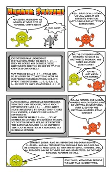 Our system of numbers (Cartoon) part two