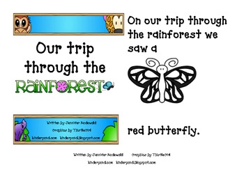 Our trip through the Rain Forest-Student version