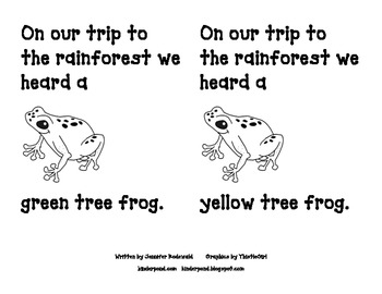 Our trip to the Rain Forest-Student version