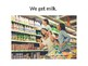 Grocery Store Adapted Book