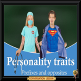 personality traits inherited or influenced? ESL adult and
