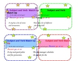 Out & About in City Hall :Subject Verb Agreement activity