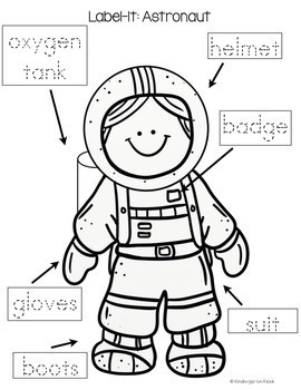 Space Theme Writing and Literacy Center Activities