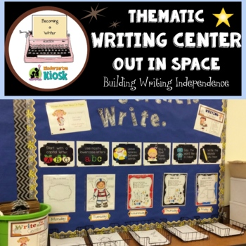 Space Theme Independent Writing Practice