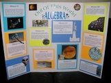 """Out Of This World ALGEBRA (10 Math """"Space Missions"""")"""