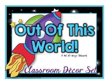 Out Of This World: Classroom Decor Set (3rd-5th Grade)