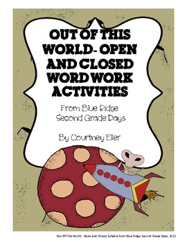 Out Of This World: E and O Open and Closed Syllable Word Work