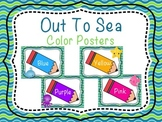 Out To Sea- Color Posters