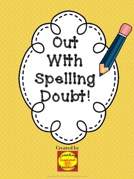 Out With Spelling Doubt! Student Dictionary/Word Book