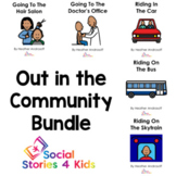 Out in the Community Bundle (French Black and White Versions)
