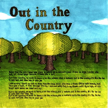 Out in the Country: Kindergarten Lesson Plan Bundle