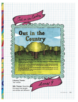 Out in the Country (aw words) - use for Language Arts & ESL & SEL