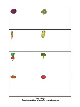 Out in the Garden Game Board