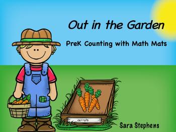 Out in the Garden Math Mats