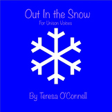 """Out in the Snow"" MP3 Accompaniment Track by Sean Pack (BMI)"