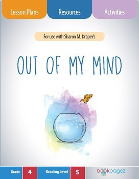 Out of My Mind Book Club Format - Determining Theme (CCSS), 4th Grade