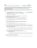 Out of My Mind- Chapters 1-6 Resources with Assessment and Answer Keys