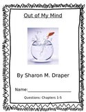 Out of My Mind- Chapters 1-5 Comprehension