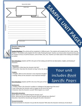 Out of My Mind Complete Literature, Grammar, & Interactive Foldables Unit