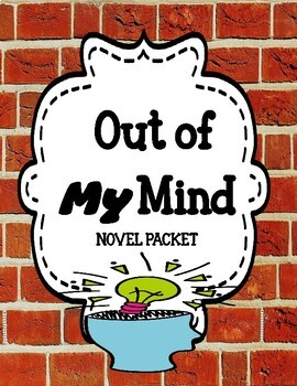 Out of My Mind - Comprehension and Vocabulary Unit - Distance Learning