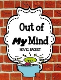 Out of My Mind - Novel Study Bundle Print and Paperless
