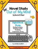 Out of My Mind: Digital Distance Novel Study for Google Slides™