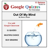 Out of My Mind Google Forms Quizzes For Google Classroom