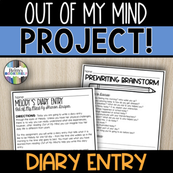 Out of My Mind by Sharon Draper - Melody's Diary Entry