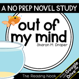 Out of My Mind Novel Study | Distance Learning | Google Cl